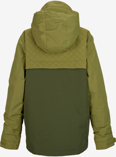 Burton Boys' TWC Greenlight Jacket shown in Keef / Algae [bluesign® Approved]