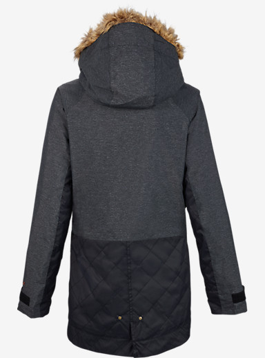 Burton TWC Charlie Jacket shown in True Black