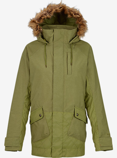 Burton TWC Charlie Jacket shown in Algae