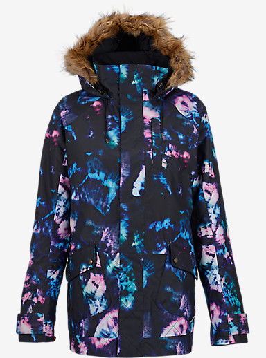 Burton TWC Charlie Jacket shown in Tie Dye