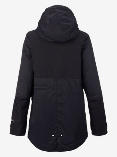 Burton TWC Troublemaker Jacket shown in True Black