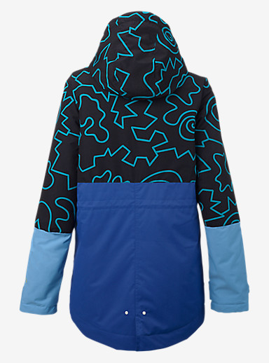 Burton TWC Troublemaker Jacket shown in Crack is Wack / Bristol / Scuba