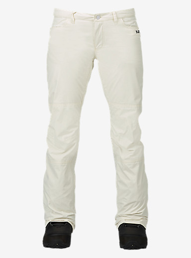 Burton TWC On Fleek Pant shown in Stout White