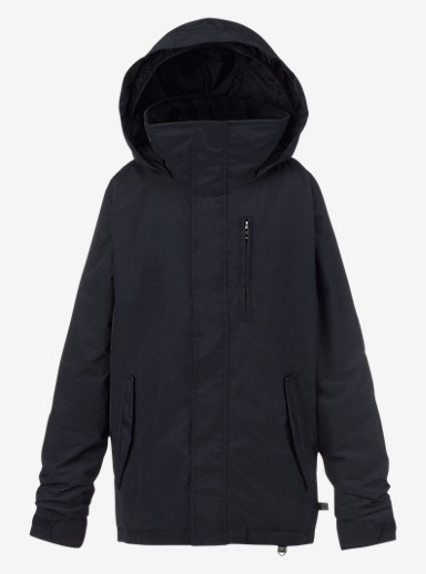 Burton Boys' Link System Jacket shown in True Black