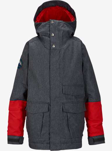 Burton Boys' Atlas Jacket shown in Denim / Burner