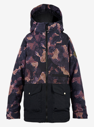 Burton Boys' Ace Jacket shown in Marker Cam / True Black