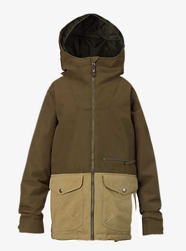 Burton Boys' Ace Jacket shown in Keef / Kelp