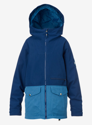 Burton Boys' Ace Jacket shown in Boro / Glacier