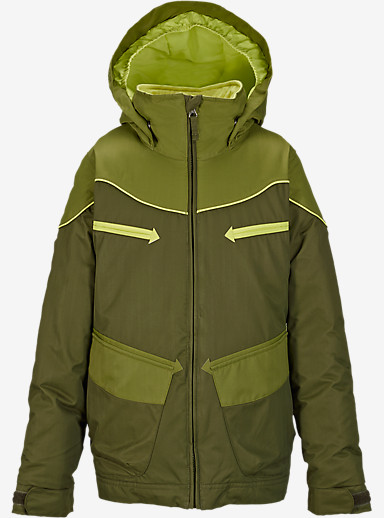 Burton Girls' Lola Jacket shown in Keef Block