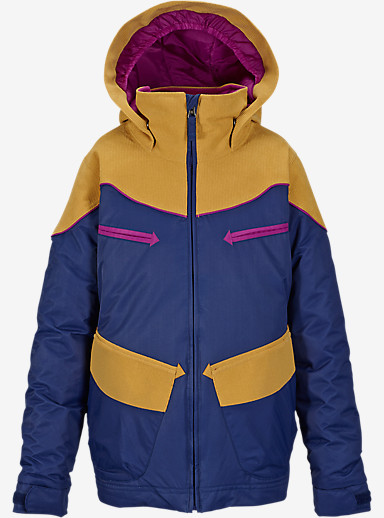 Burton Girls' Lola Jacket shown in Spellbound Block