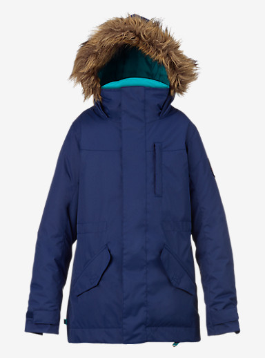 Burton Girls' Aubrey Parka Jacket shown in Spellbound