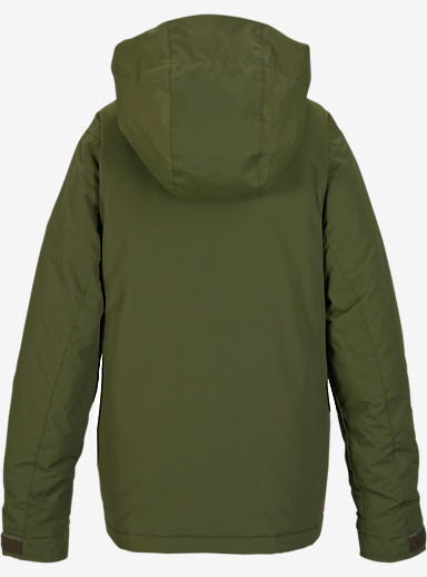 Burton Girls' Echo Jacket shown in Keef / Grapeseed [bluesign® Approved]