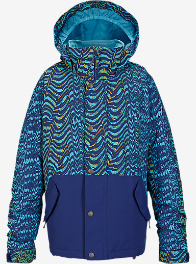 Burton Girls' Echo Jacket shown in Zebratti / Spellbound [bluesign® Approved]