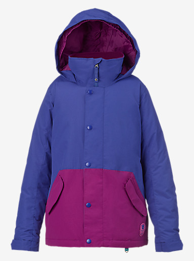 Burton Girls' Echo Jacket shown in Sorcerer / Grapeseed