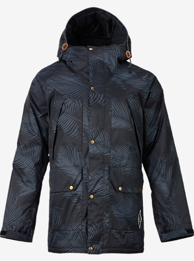 Analog Lennox Jacket shown in Palms Black