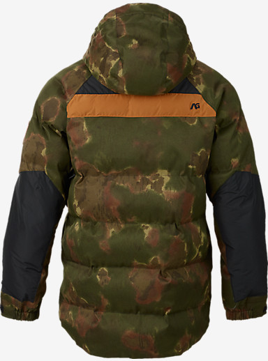 Analog Innsbruck Down Jacket shown in Ink Blot Camo