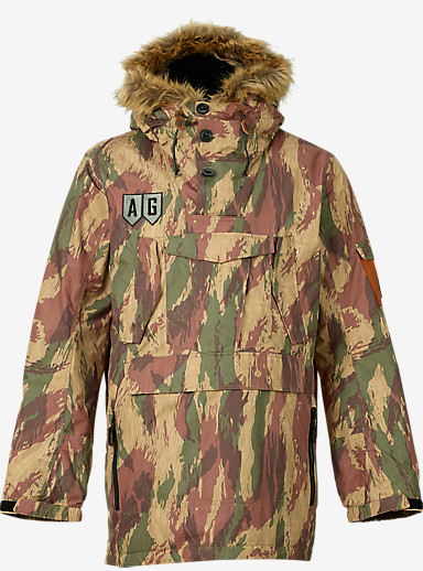 Analog Mindfield Anorak Jacket shown in Water Camo