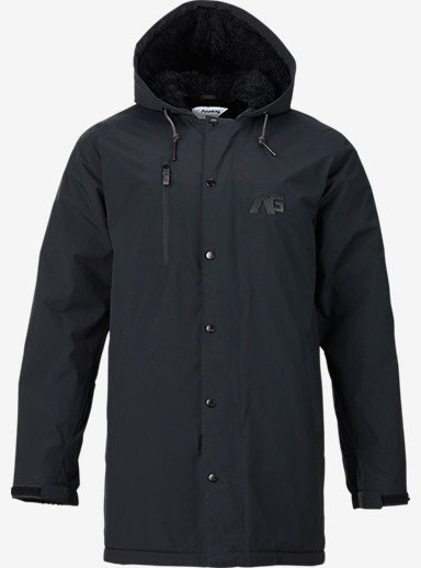 Analog Stadium Parka Snowboard Jacket shown in Black