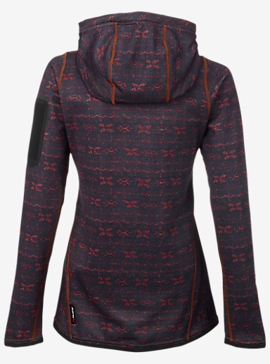 Burton [ak] Women's Lift Hoody shown in Picante Indoindigo