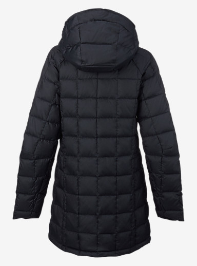 Burton [ak] Long Baker Down Insulator Jacket shown in Black Heather