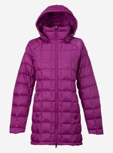 Burton [ak] Long Baker Down Insulator Jacket shown in Grapeseed