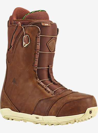 Red Wing® x Burton Ion Leather Snowboard Boot shown in Redwing