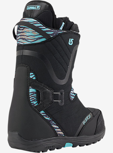 Burton Limelight Boa® Snowboard Boot shown in Black / Snow Leopard