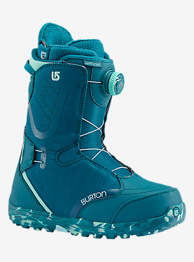 Burton Limelight Boa® Snowboard Boot shown in The Teal Deal