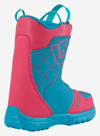 Burton Grom Boa® Snowboard Boot shown in Pink / Teal