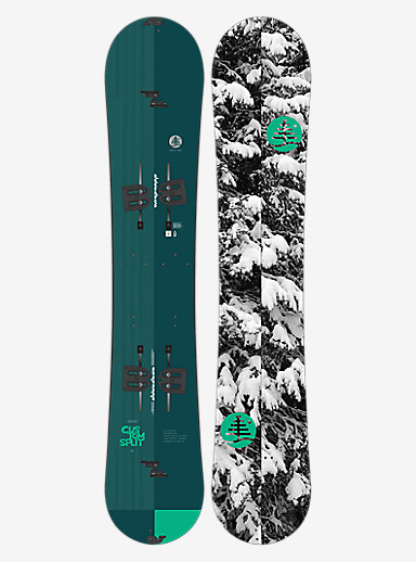Burton Family Tree Custom Split Snowboard shown in 160
