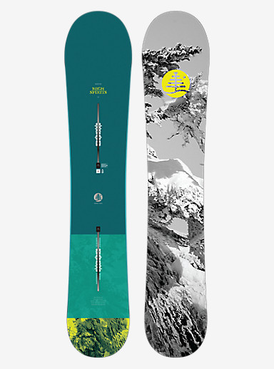 Burton Family Tree High Spirits Snowboard shown in 153