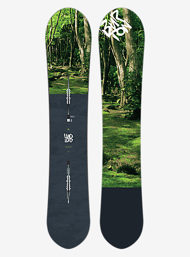 Burton Landlord Snowboard shown in 163