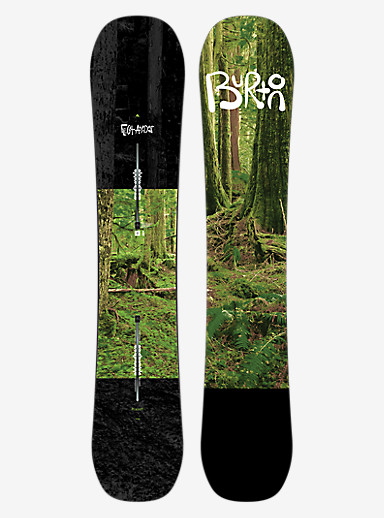 Burton Flight Attendant Snowboard shown in 162W