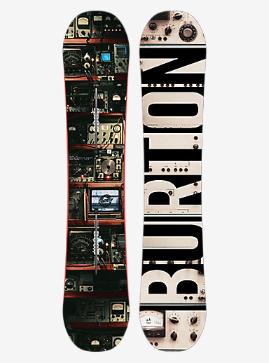 Burton Blunt Snowboard shown in 147