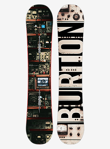 Burton Blunt Snowboard shown in 156W