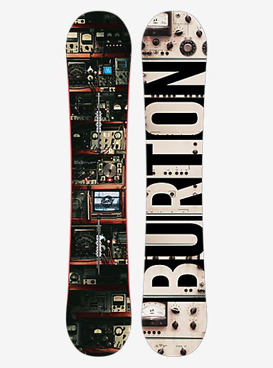 Burton Blunt Snowboard shown in 163W