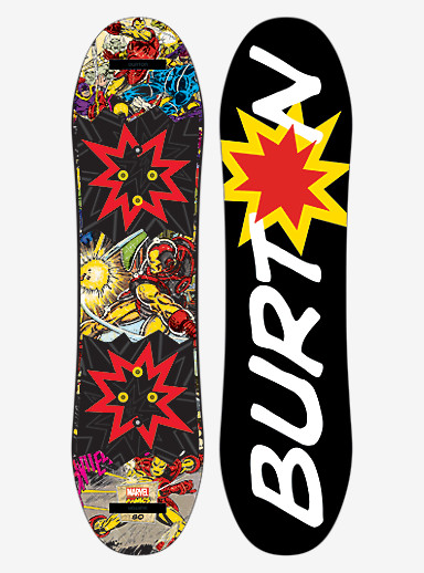 Marvel® x Burton Chopper LTD Snowboard shown in 80