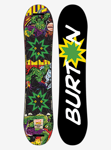 Marvel® x Burton Chopper LTD Snowboard shown in 100