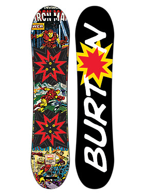 Marvel® x Burton Chopper LTD Snowboard shown in 115