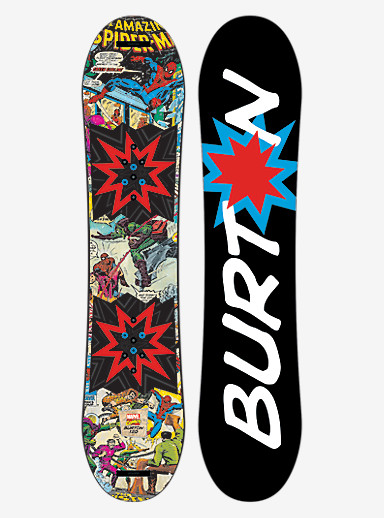 Marvel® x Burton Chopper LTD Snowboard shown in 120