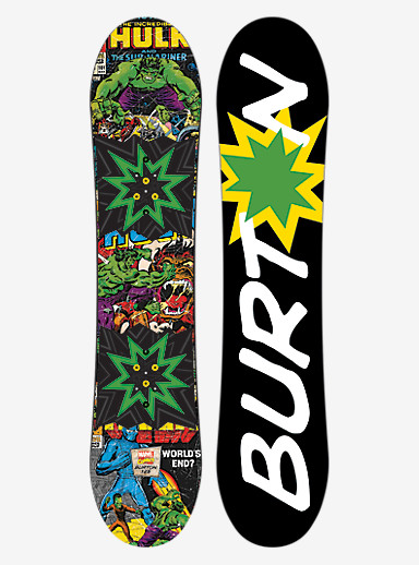 Burton Chopper LTD Marvel Snowboard shown in 125