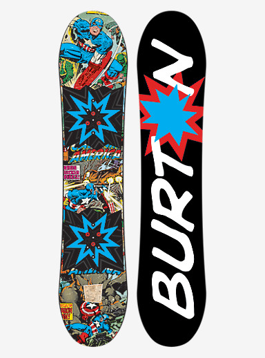 Marvel® x Burton Chopper LTD Snowboard shown in 130