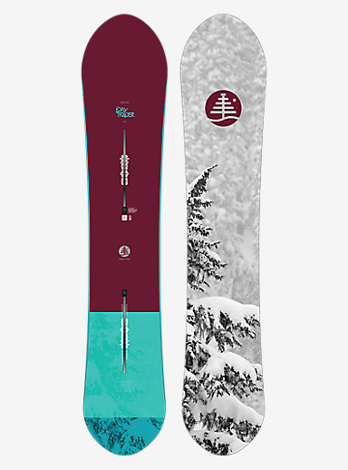 Burton Family Tree Day Trader Snowboard shown in 150