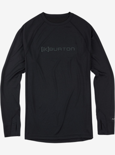 Burton [ak] Power Dry® Crew shown in True Black