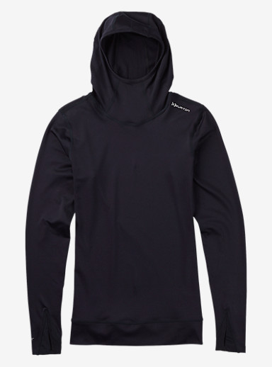Burton Women's [ak] Power Stretch® Hood shown in True Black