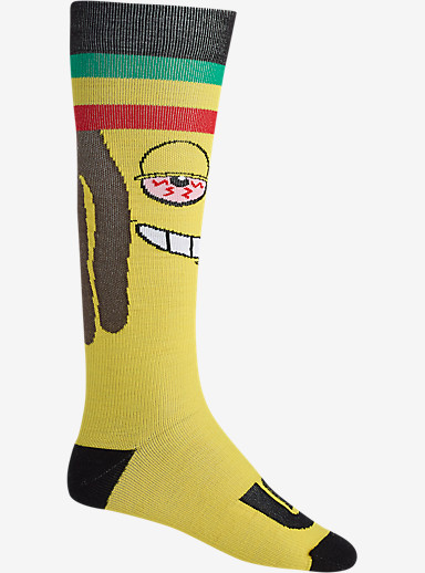 Burton Super Party Snowboard Sock shown in RAS Banana