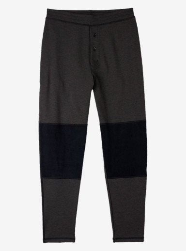 Burton Expedition Base Layer Wool Pant shown in True Black Heather