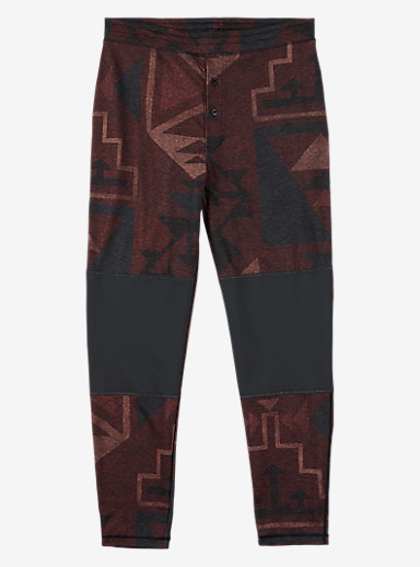 Burton Expedition Base Layer Wool Pant shown in Canyon