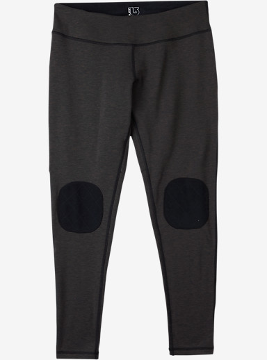 Burton Women's Expedition Base Layer Wool Pant shown in True Black Heather