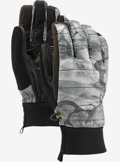 Burton [ak] Insulator Glove shown in Snow Akamo